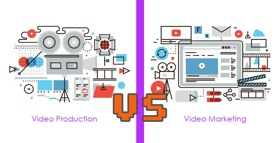 Video Production vs. Video Marketing