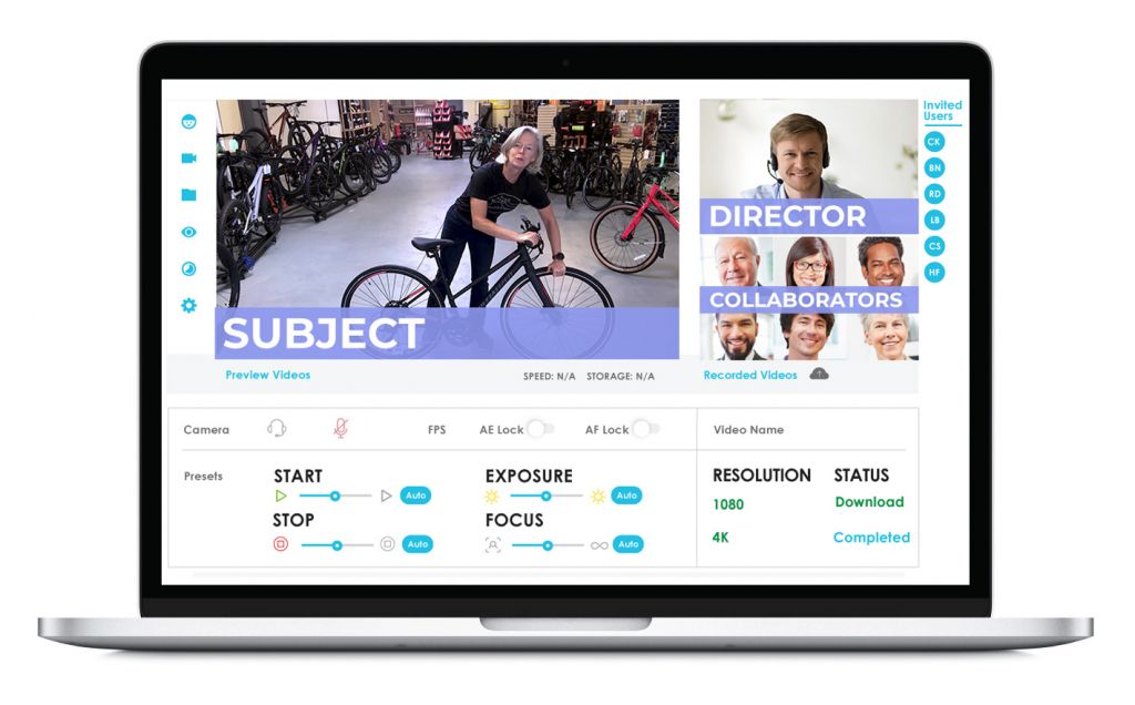 Remote Directed Video Interface